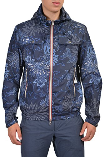 Moncler Lyon Men's Multi-Color Full Zip Hooded Windbreaker Moncler Sz 2 US M