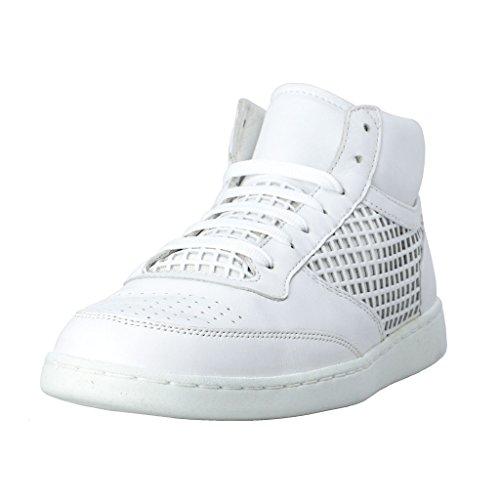 Dolce & Gabbana Women's White Leather Fashion Sneakers ShoesUS 9 IT 39 Dolce Sz 5.5