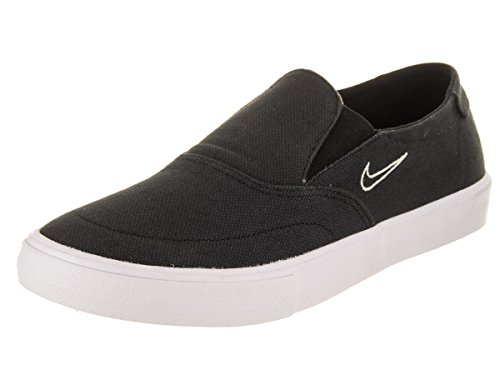 NIKE Men's SB Portmore II SLR SLP C Black/Black Light Bone Skate Shoe 8 Men US