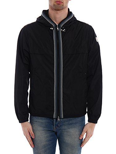 Moncler Men's Black Polyamide Outerwear Jacket