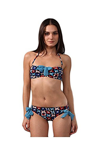 Marc by Marc Jacobs Violet Garden Bow Trim Bikini Swimsuit (S)