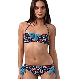 Marc by Marc Jacobs Violet Garden Bow Trim Bikini Swimsuit (S)