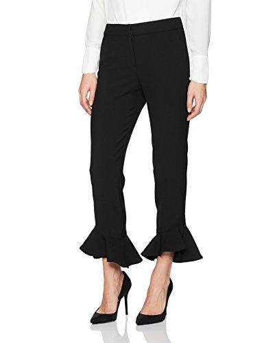 Trina Turk Women's Cahuenga Pant, Black, 0