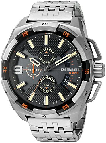 Diesel Men's Heavyweight Gunmetal Watch