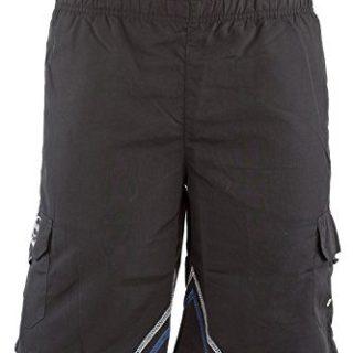 Just Cavalli Men Black Beach Swim Board Shorts Long Swimsuit Designer Trunks S US EU 48