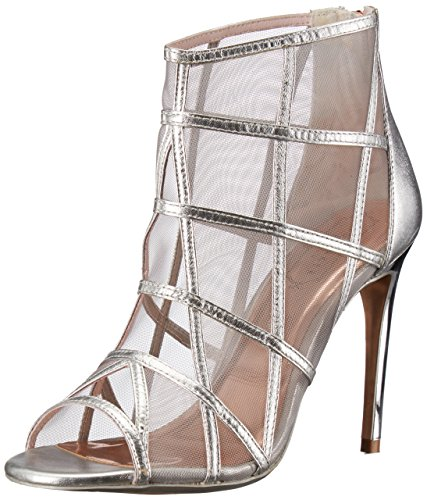 Ted Baker Women's Xstal Fashion Boot, Silver, 6.5 M US