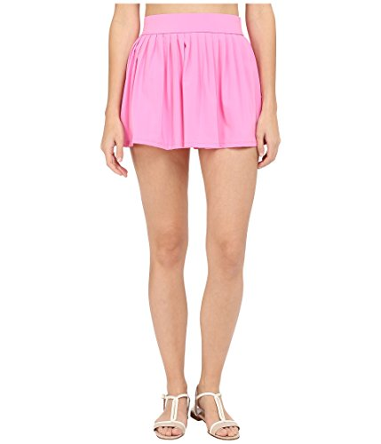 Kate Spade New York Women's Georgica Beach Pleated Cover up Skirt Vibrant Pink XS