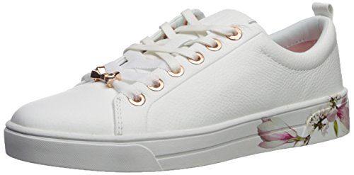 Ted Baker Women's Kellei Sneaker, White Harmony, 8.5 B(M) US