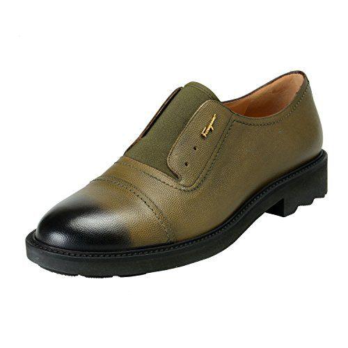 Salvatore Ferragamo Women's Ferdy Green Pebbled Loafers Slip On Shoes US 10M IT 40M