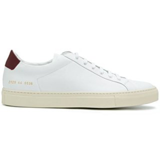 COMMON PROJECTS Men's White Leather Sneakers