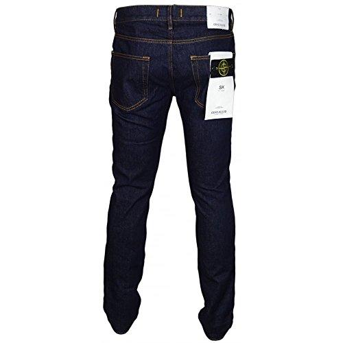 "Stone Island Skinny Fit Dark Wash Jeans W34"" - L34"" Dark Wash"