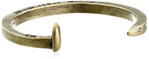 Giles and Brother Men's The Original Railroad Spike Brass Cuff Bracelet