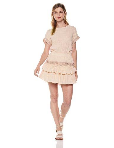 Misa Women's Oliva Dress, Pink/Pink, Small