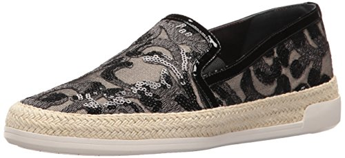 Donald J Pliner Women's Pamelaru26 Fashion Sneaker, Black, 9 M US
