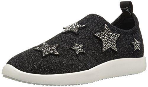 Giuseppe Zanotti Women's Sneaker, Black, 8.5 B US