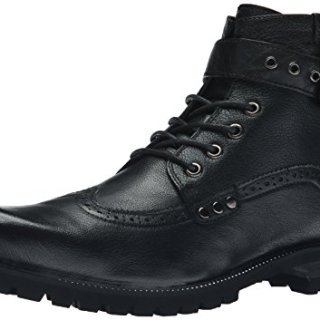 Joe's Jeans Men's Slops Combat Boot, Black, 10 M US