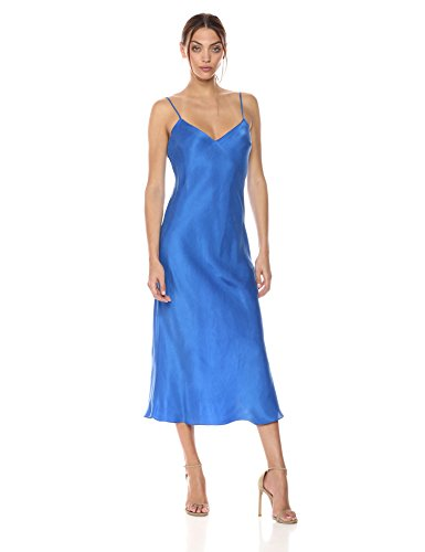 Mara Hoffman Women's Zephyr Spaghetti Strap Slip Dress, Blue, X-Small