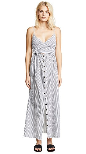 Mara Hoffman Women's Stripe Thora Dress, Stripe, Medium