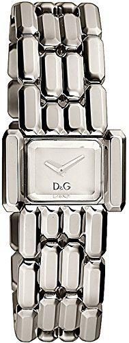 Dolce & Gabbana Aristocratic Silver-tone Mirrored Dial Women's Watch