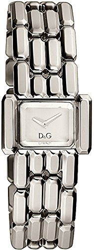 Dolce & Gabbana Aristocratic Silver-tone Mirrored Dial Women's Watch