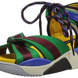 Marc Jacobs Women's Somewhere Sport Sandal, Blue/Multi, 39 M EU (9 US)