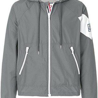 Moncler Men's Grey Polyester Outerwear Jacket