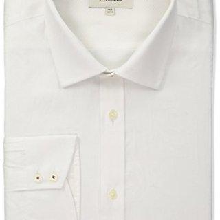 """Ted Baker Men's Anook Slim Fit Dress Shirt, White, 16"""" Neck 34""""-35"""" Sleeve"""