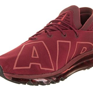 NIKE Men's Air Max Flair SE Team Red/University Red Black Running Shoe 8.5 Men US