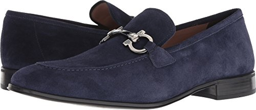 Salvatore Ferragamo Men's Flori 2 Blue Garconne 266 9.5 E US