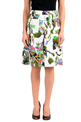 Versace Versus Multi-Color Women's Pencil Skirt US XS IT 38