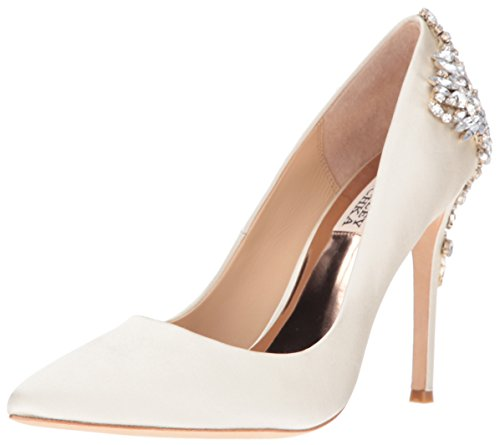 Badgley Mischka Women's Gorgeous Dress Pump, Ivory, 9 M US