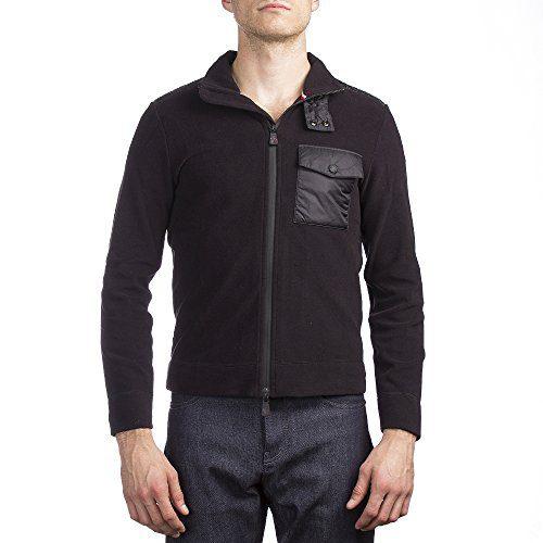 Moncler Men's Fleece Jacket Black