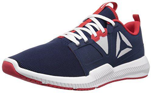 Reebok Men's Hydrorush TR Sneaker, Collegiate Navy/White/Excellent Red, 9 M US