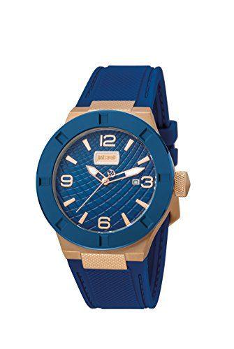 Just Cavalli Rock Men's Blue Watch