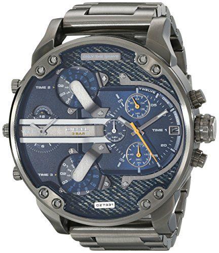 Diesel Men's Mr Daddy 2.0 Gunmetal-Tone Stainless Steel Watch