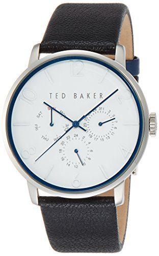 Ted Baker Men's Classic Analog Display Japanese Quartz Black Watch