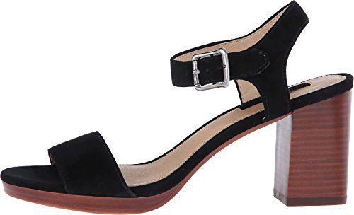 FRYE Women's Blake 2 Piece Dress Sandal, Black, 7.5 M US