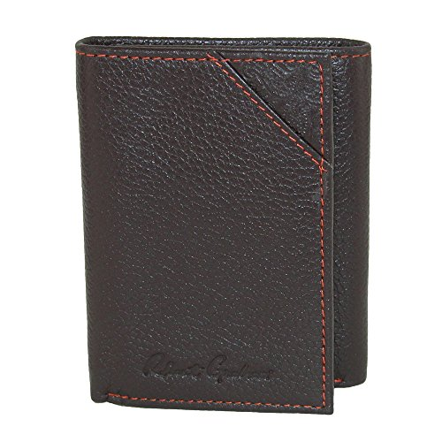 Robert Graham Men's Kent Leather Trifold Wallet, OS, Brown
