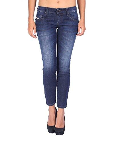 Diesel Women's Jeans Grupee-Ankle - Super Slim Skinny - Blue, W28/L30