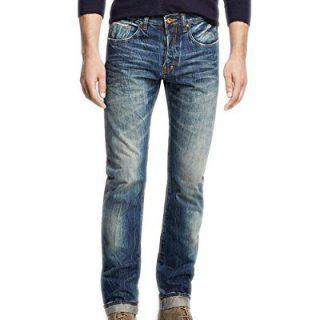 PRPS Goods & Co. Men`s Woven Denim Jean (30, Indigo)