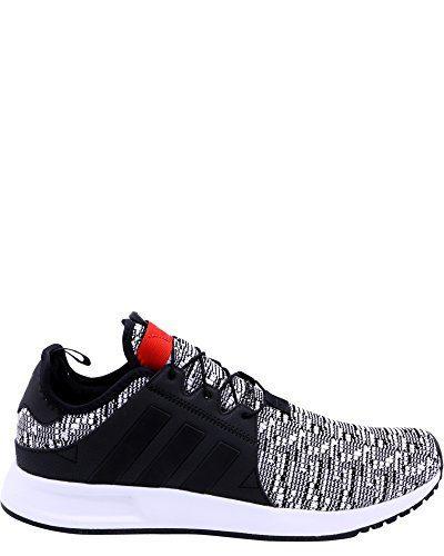 adidas Men's X PLR Sneakers, Black/Red,9