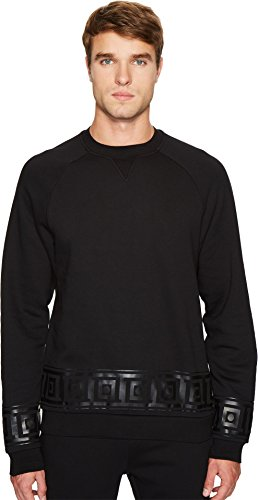 Versace Collection Men's Key Border Sweatshirt Black Small