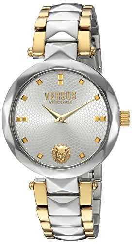 Versus by Versace Women's 'Covent Garden' Quartz Stainless Steel Casual Watch, Color:Two Tone