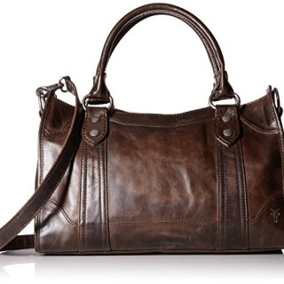 FRYE Melissa Satchel Handbag,Slate,One Size