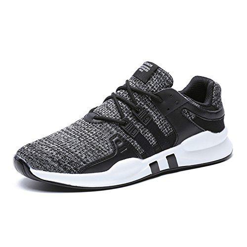 JACKSHIBO Men Casual Fashion Sneakers Breathable Athletic Sports Shoes