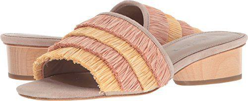 Donald J Pliner Women's Reise Slide Sandal, Rose Multi, 8.5 Medium US