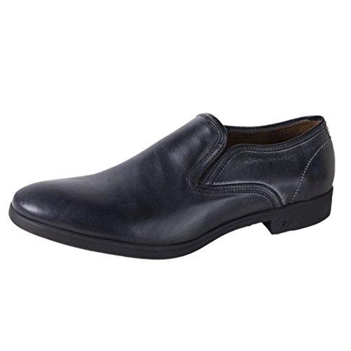 John Varvatos Men's Leather Dylan Sidegore Loafers 12 Black