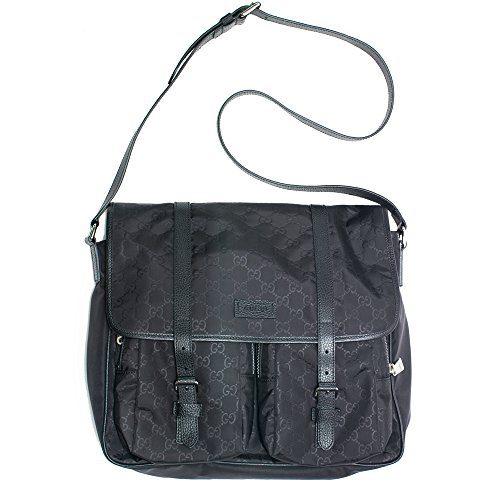 a429c633776 Home Shop Women Accessories Handbags   Wallets Gucci Gg Canvas Beige Ebony  Canvas Leather Bag Tote