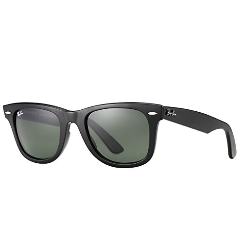 Ray-Ban Original Wayfarer Sunglasses, Black, 54mm