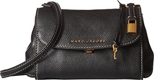 Marc Jacobs Women's Mini Boho Grind Bag, Black/Gold, One Size